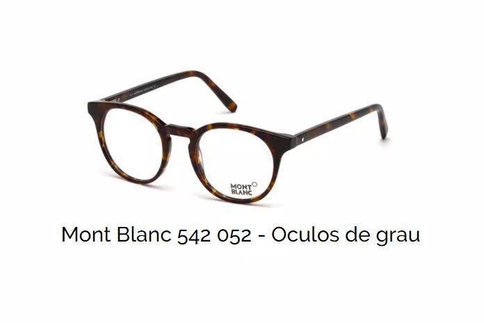 Mont Blanc 542 052 – Oculos de grau   Ótica Fratelli b437a20b73