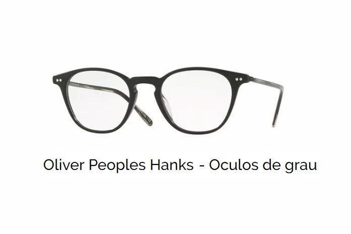 Oliver Peoples Hanks – Óculos de grau   Ótica Fratelli 9c193d69f7