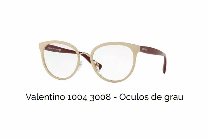 Valentino – Óculos de grau   Ótica Fratelli 07123ec445